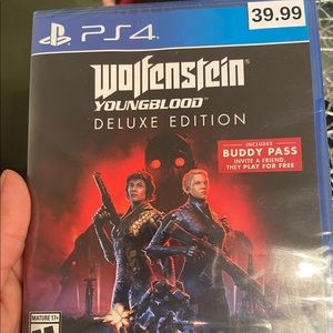 BRAND NEW! Wolfenstein Youngblood Deluxe Edition